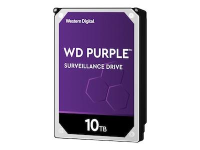 WD 10TB WD Purple SATA 6Gb s 3.5 Internal Hard Drive, WD100PURZ, 33873764, Hard Drives - Internal