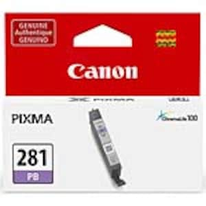 Canon CLI-281 Ink Tank, Blue, 2092C001, 34535151, Ink Cartridges & Ink Refill Kits - OEM