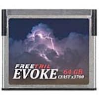 Edge Evoke 64GB 3700X CFast 2.0 Memory Card, FTCF064A37, 34543636, Memory - Flash