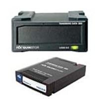 Tandberg Data RDX QuickStor USB 3.0 External Drive - Black w  2TB RDX QuikStor Removable Disk Cartridge, 8782-RDX/8731-RDX, 34655195, Removable Drives