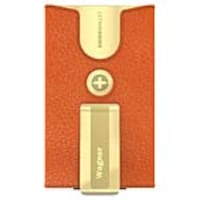 OtterBox Wagner Geneva Top-Grain Leather Wallet Module w  Money Clip for uniVERSE Case, Orange, 78-51434, 34714829, Carrying Cases - Other
