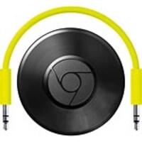 Open Box Google Chromecast Audio Network AV, Black, GA3A00147-A14-Z01, 35157358, Streaming Media Players