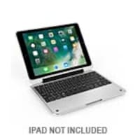 Incipio ClamCase Pro Keyboard Case for 5th Gen iPad, White Cover Silver Aluminum, IPD-390-WSLV, 34783373, Keyboards & Keypads