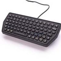 iKEY SlimKey Compact Backlit Industrial USB Keyboard, SLK-77-M-USB, 34811725, Keyboards & Keypads