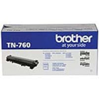 Brother Black TN-760 High Yield Toner Cartridges (3-pack), TN7603PK, 37137473, Toner and Imaging Components - OEM
