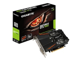 Gigabyte Technology GV-N1050D5-3GD Main Image from Left-angle