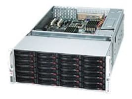 Supermicro 4U Chassis, eATX, 7xLP Slots, 36xHDD Bays, 1400W RPSU, CSE-847E16-R1400LPB, 10875724, Cases - Systems/Servers