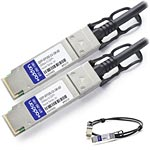 Add On Computer Peripherals QSFP-SFP10G-CU-3M-AO Main Image from