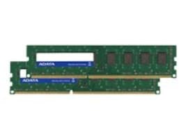 A-Data 8GB PC3-12800 240-pin DDR3 SDRAM DIMM Kit, AD3U1600W4G11-2, 32083939, Memory