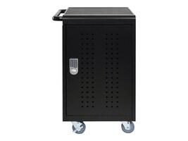 Luxor 30-Unit Tablet Chromebook Computer Charging Cart, LLTM30-B, 33223868, Computer Carts