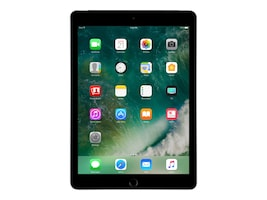 Apple iPad 128GB, Wi-Fi+Cellular for Apple SIM, Space Gray, MP2D2LL/A, 33870678, Tablets - iPad