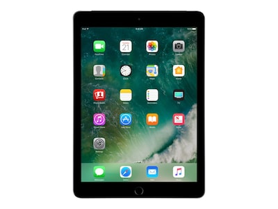 Apple iPad 9.7, 32GB, Wi-Fi+Cellular for Apple SIM, Space Gray, MP242LL/A, 33870601, Tablets - iPad