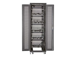 Black Box Mass Charging Cabinet w Cable Management, 60-Device, MSC-60-CCN, 33247561, Charging Stations