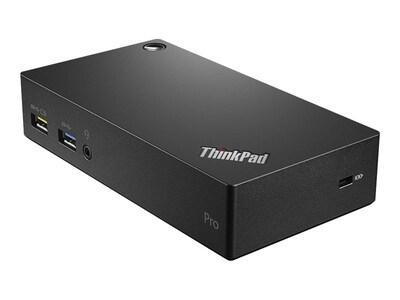 Lenovo ThinkPad USB 3.0 Pro Dock, 40A70045US, 20659718, Docking Stations & Port Replicators