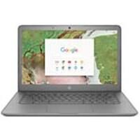Scratch & Dent HP Chromebook 14 G5 Celeron N3350 1.1GHz 4GB 16GB SSD ac BT WC 2C 14 HD MT Chrome OS, 3PD95UT#ABA, 37795118, Notebooks