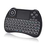 Adesso SlimTouch 4040 Handheld Wireless Illuminated Keyboard w  Built-In Touchpad, WKB-4040UB, 35128557, Keyboards & Keypads