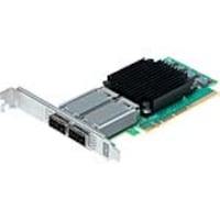 Atto FastFrame N312 2-Port 25 40 50 100GbE QSFP28 PCIe 3.0 NIC, FFRM-N312-DA0, 35155037, Network Adapters & NICs