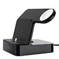 Belkin PowerHouse Charge Dock for Apple Watch & iPhone, Black, F8J200TTBLK, 35177391, Battery Chargers