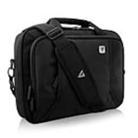 V7 13 Professional Front Loading Laptop Briefcase, Black, CCP13-BLK-9N, 35182844, Carrying Cases - Notebook