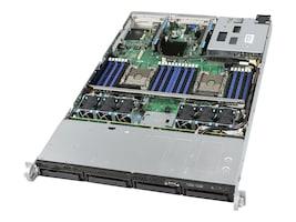 Intel R1304WFTYS 1U RM Server System (2x)CPU slots 24xDIMM slots 4x3.5 HS bays 2x10GbE 1x1100W PSU, R1304WFTYS, 34296760, Servers