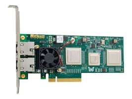 Myricom NETWORK ADAPTER WITH DUAL 10GBASE-T PORTS, 10GB S ETHERNET, PCI EXPRES, 10G-PCIE2-8C2-2T, 37518321, Network Adapters & NICs