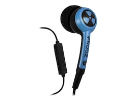 Zagg Audio Ear Pollution Headphones, IFPLGM-BL0, 33519950, Headsets (w/ microphone)