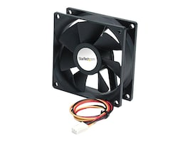 StarTech.com CPU Case Ball Bearing Cooling Fan Motor, 9x2.5cm with TX3 Connectors, FAN9X25TX3L, 242794, Cooling Systems/Fans