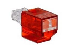 Leviton SECURE RJPORT BLOCKER RED BAG  ACCS12, SRJPB-00R, 37572934, Premise Wiring Equipment