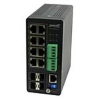 Transition 8-Port GbE PoE+ Mngd Hardened Switch w 4xGbE SFP, SISPM1040-384-LRT-C, 35496000, Network Switches