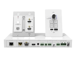 Siig HDMI 4K HDBaseT Wallplate Kit, CE-H25S11-S1, 37510207, Switch Boxes
