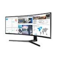 Open Box Samsung 49 CJ89 4K Ultra HD LED-LCD Curved Ultrawide Monitor, Black, C49J890DKN, 37273601, Monitors