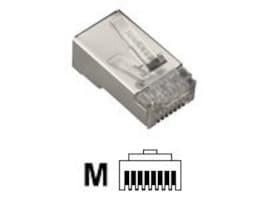 Black Box Cat6 Modular Shielded Plug, 50-Pack, FMTP6S-50PAK, 11308422, Premise Wiring Equipment