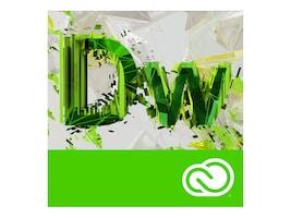 Adobe Corp. VIP Dreamweaver CC MultiPlat Lic Sub Rnwl 1 User Level 3 50-99 12 mo., 65270360BA03A12, 31709522, Software - Programming Tools