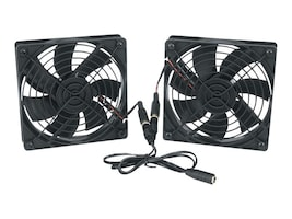 C2G Fan Kit for Vertical Wall Mount Cabinet, 115VAC, VWMFK-115, 35130340, Rack Cooling Systems