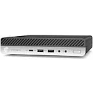 Open Box HP ProDesk 600 G4 DM Core i5-8500T 2.1GHz 8GB 256GB SSD UHD630 ac BT HDMI W10P64, 4LE94UT#ABA, 37737305, Desktops