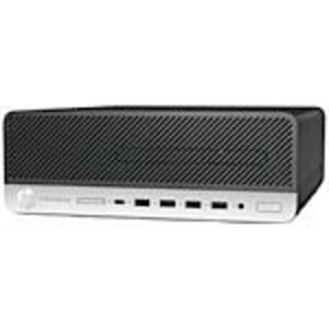 Open Box HP ProDesk 600 G4 SFF Core i7-8700 3.2GHz 8GB 256GB SSD UHD630 DVD-W GbE VGA W10P64, 4HJ16UT#ABA, 38108383, Desktops