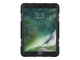 Griffin Survivor All-Terrain Rugged Case for 10.5 iPad Pro, Black Clear, GB43627, 35029831, Carrying Cases - Tablets & eReaders