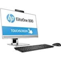 HP EliteOne 800 G4 AIO Core i5-8500 3.0GHz 8GB 256GB SSD DVD-W ac BT 1xDP 1xHDMI WC 23.8 FHD W10P64, 4HK05UT#ABA, 35800489, Desktops - All-in-One
