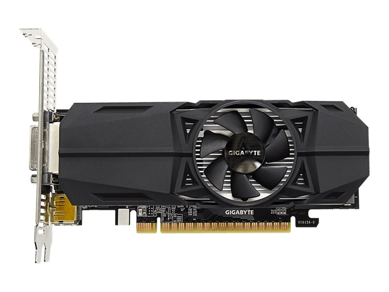 Gigabyte Tech GeForce GTX 1050 PCIe 3 0 x16 Overclocked Graphics Card, 2GB  GDDR5