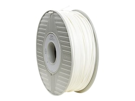 Verbatim White 3mm 1kg PLA 3D Filamennt Reel, 55260, 30788353, Printer Supplies - 3D