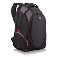SOLO 17.3 Launch Backpack, Black Red, ACV711-4, 35981945, Carrying Cases - Notebook