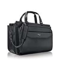 SOLO 15.6 Harrison Triple Compartment Briefcase, Black, CLS346-4, 35982358, Carrying Cases - Notebook