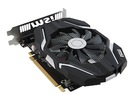 MSI Computer GTX 1050 TI 4G OC Main Image from Right-angle