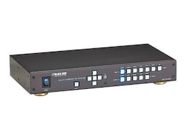 Black Box HDMI, DVI, VGA, DisplayPort, 7 x 1 Presentation Switcher, AVSC-7DA-HDMI, 33003865, Switch Boxes - AV