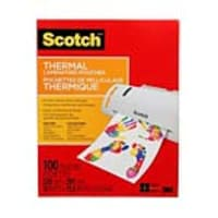 3M 9 x 11.5 Thermal Laminating Pouches, 25-Pack, TP3854-25, 36115467, Office Supplies