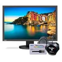 Scratch & Dent NEC 24.1 P243W-BK LED-LCD Monitor with SpectraView II Color Calibration System, P243W-BK-SV, 37471391, Monitors