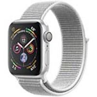 Apple Watch Series 4 GPS, 40mm Silver Aluminum Case, Seashell Sport Loop, MU652LL/A, 36142211, Wearable Technology - Apple