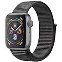 Apple Watch Series 4 GPS, 40mm Space Gray Aluminum Case, Black Sport Loop, MU672LL/A, 36142238, Wearable Technology - Apple