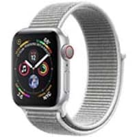 Apple Watch Series 4 GPS+Cellular, 44mm Silver Aluminum Case with Seashell Sport Loop, MTUV2LL/A, 36143601, Wearable Technology - Apple