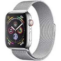 Apple Watch Series 4 GPS+Cellular, 44mm Stainless Steel Case with Milanese Loop, MTV42LL/A, 36143661, Wearable Technology - Apple